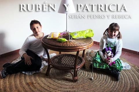 RUBÉN Y PATRICIA ENCARNARÁN LA VIDA DE PEDRO Y REBECA.