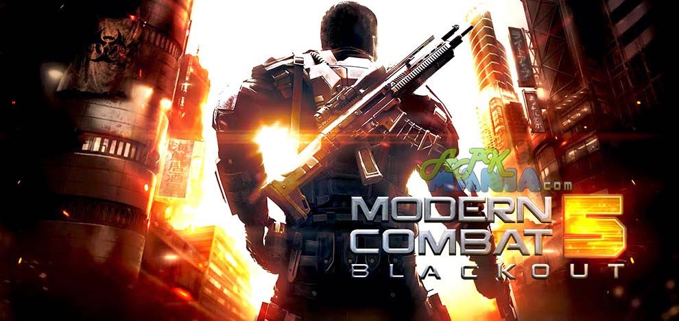Modern Combat 5 Blackout Released for android devices