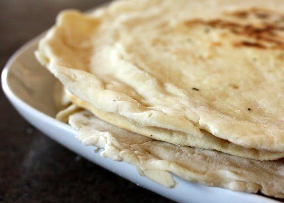Readable Eatables: {Homemade Flour Tortillas}
