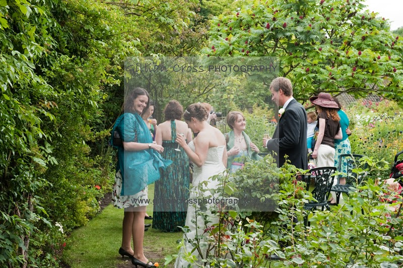 Crook Hall and Gardens wedding