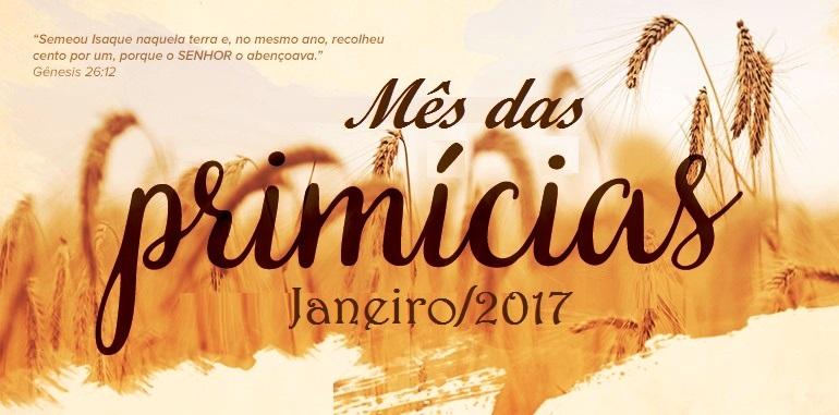 JANEIRO_MÊS DA PRIMÍCIAS