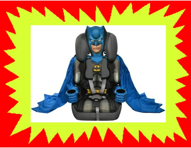 Kids Embrace Batman Car Seat
