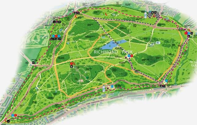 Leo Lundy Race Reports Richmond Park London