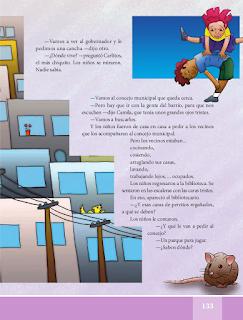La calle es libre - Español Lecturas 5to 2014-2015