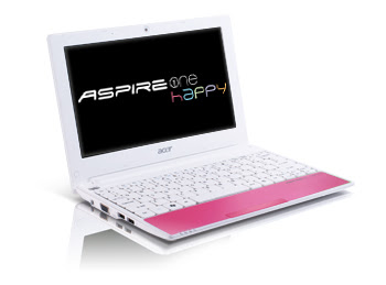 review Acer Aspire One Happy AOHAPPY-1225  netbook 2011