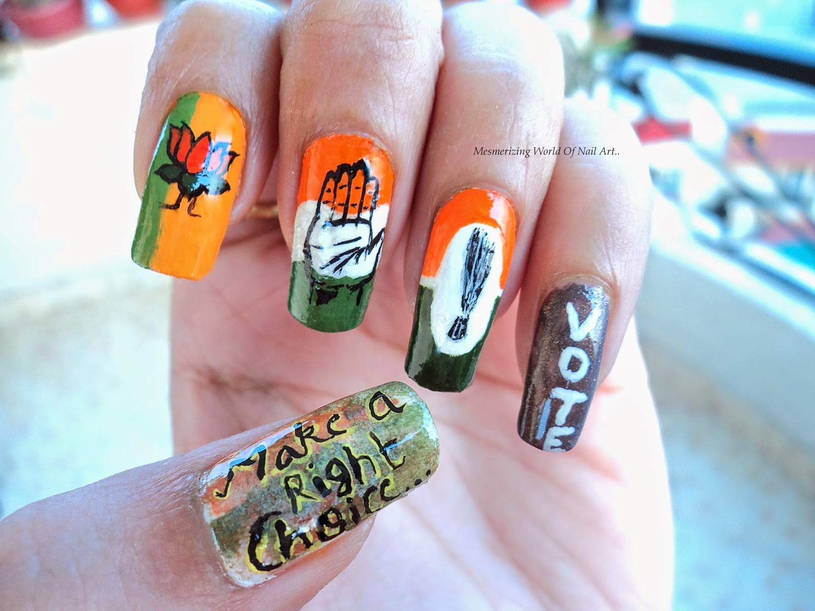 Mesmerizing World Of Nail Art Go Indiavote