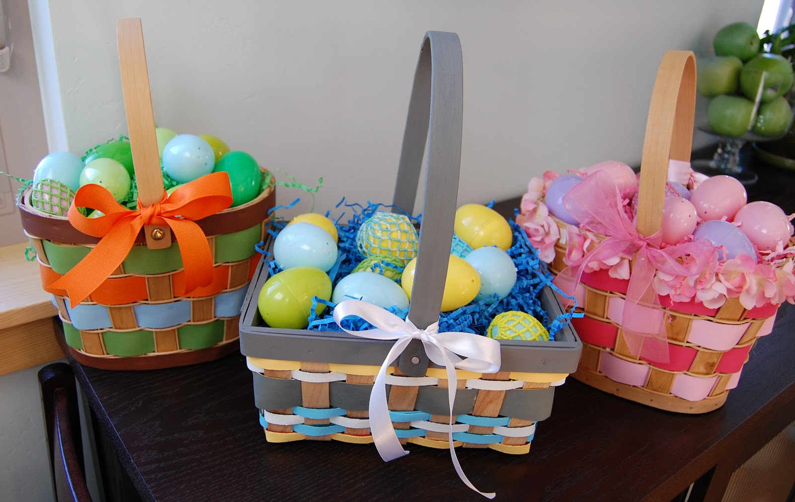 C Is For Crafty Painted Easter Baskets
