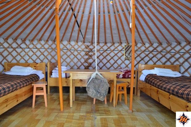 Khan Bogd Tourist Camp, nei pressi dello Yolyn Am Canyon