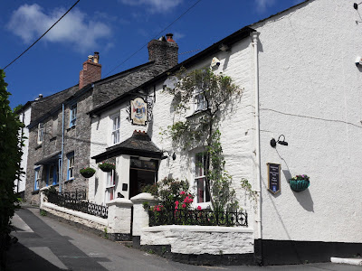 Fisherman's Arms pub Golant Cornwall