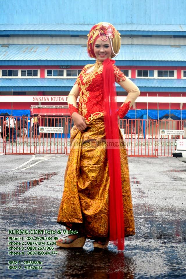 Model Hijab / Model Jilbab pada Hunting Bareng & Buka Bareng Komunitas Fotografer Banyumas KFB di GOR Satria - Minggu, 20 Juli 2014