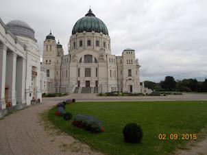 Part of the  Zentralfriedhof  cemetery complex in Vienna.