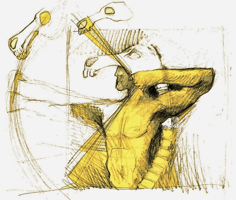 Pferd Kentaur Skizze Zeichnung
