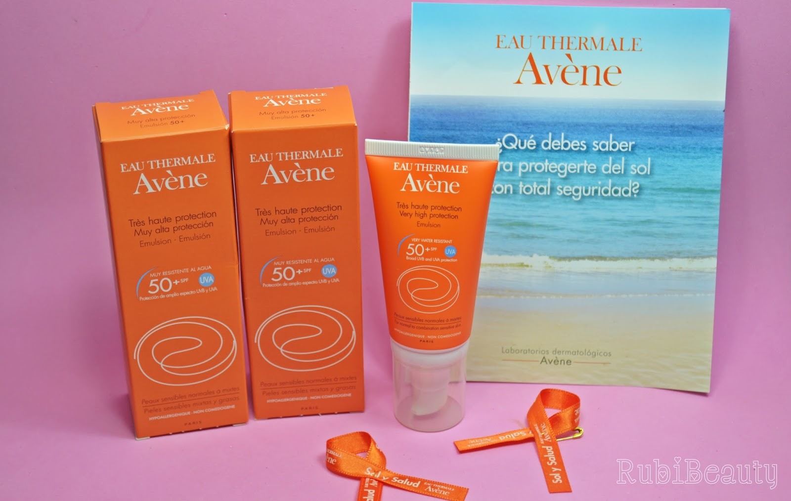 rubibeauty review avene protector solar facial oil free 50+