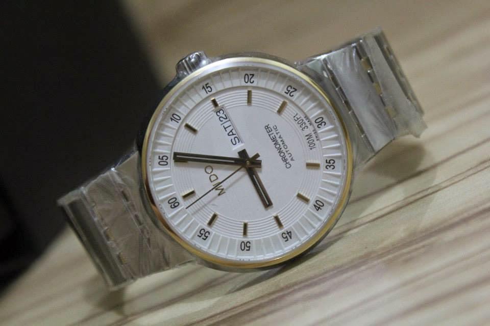 . H o b i J a m . : (SOLD) Mido All Dial White Chronometer ...