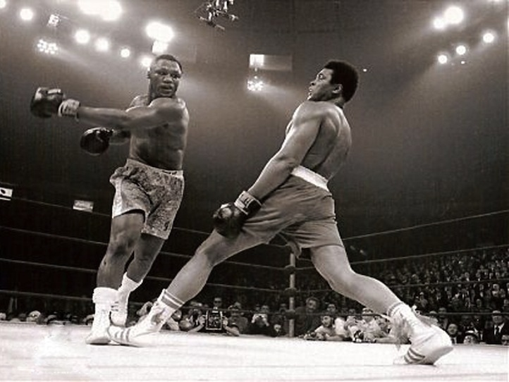 71 Fight of the century Muhammad Ali and Joe Frazier