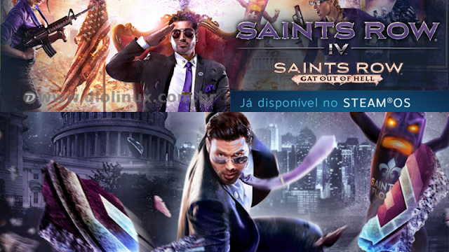 Saints Row 4 no Linux/Steam OS