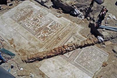 Vila romana do século 4 a.C encontrada após escavações em Israel já pode ser visitada