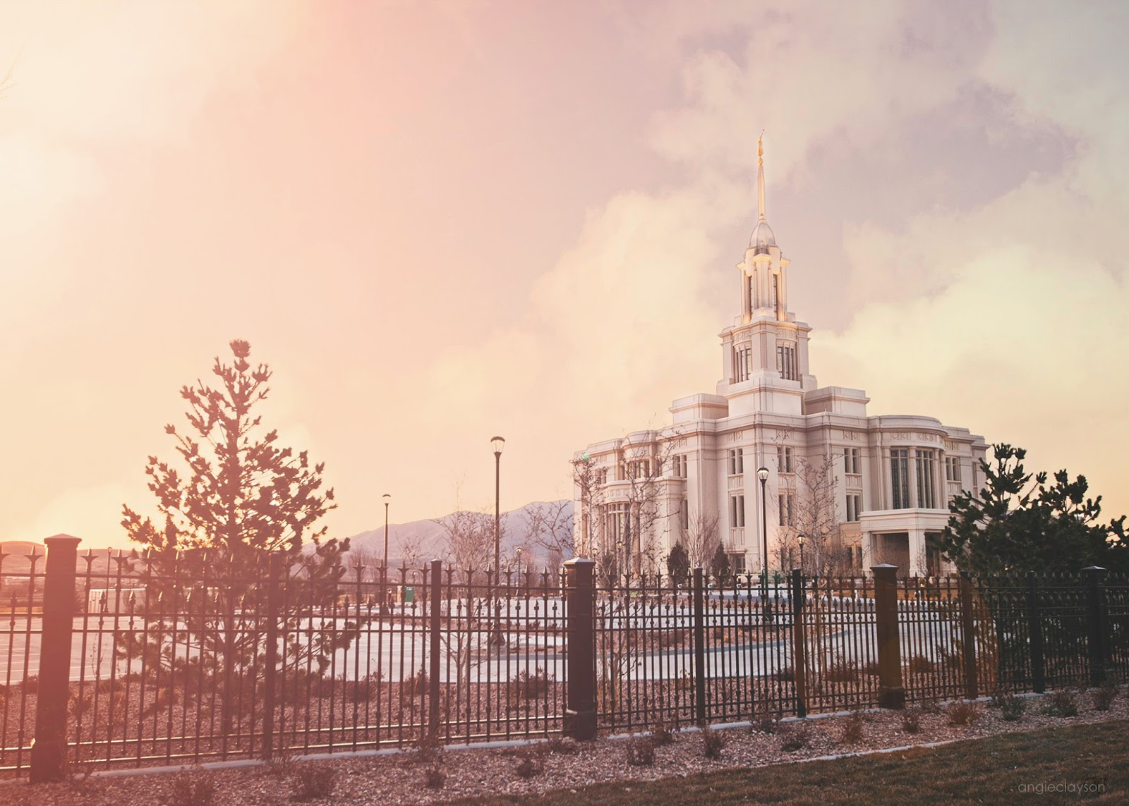 Payson Temple Open House A Few Short Weeks Away