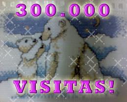 300.000  VISITANTES