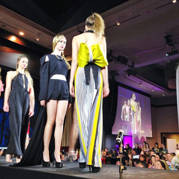 fwsd-duck-and-england-chartreuse-bow-yellow-bow-runway-fashion-week-san-diego-spring-preview-event-2014-king-and-kind