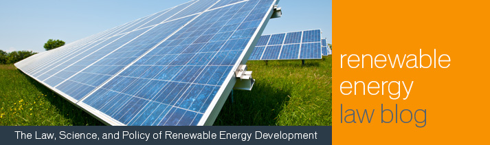 Renewable Energy Law Blog