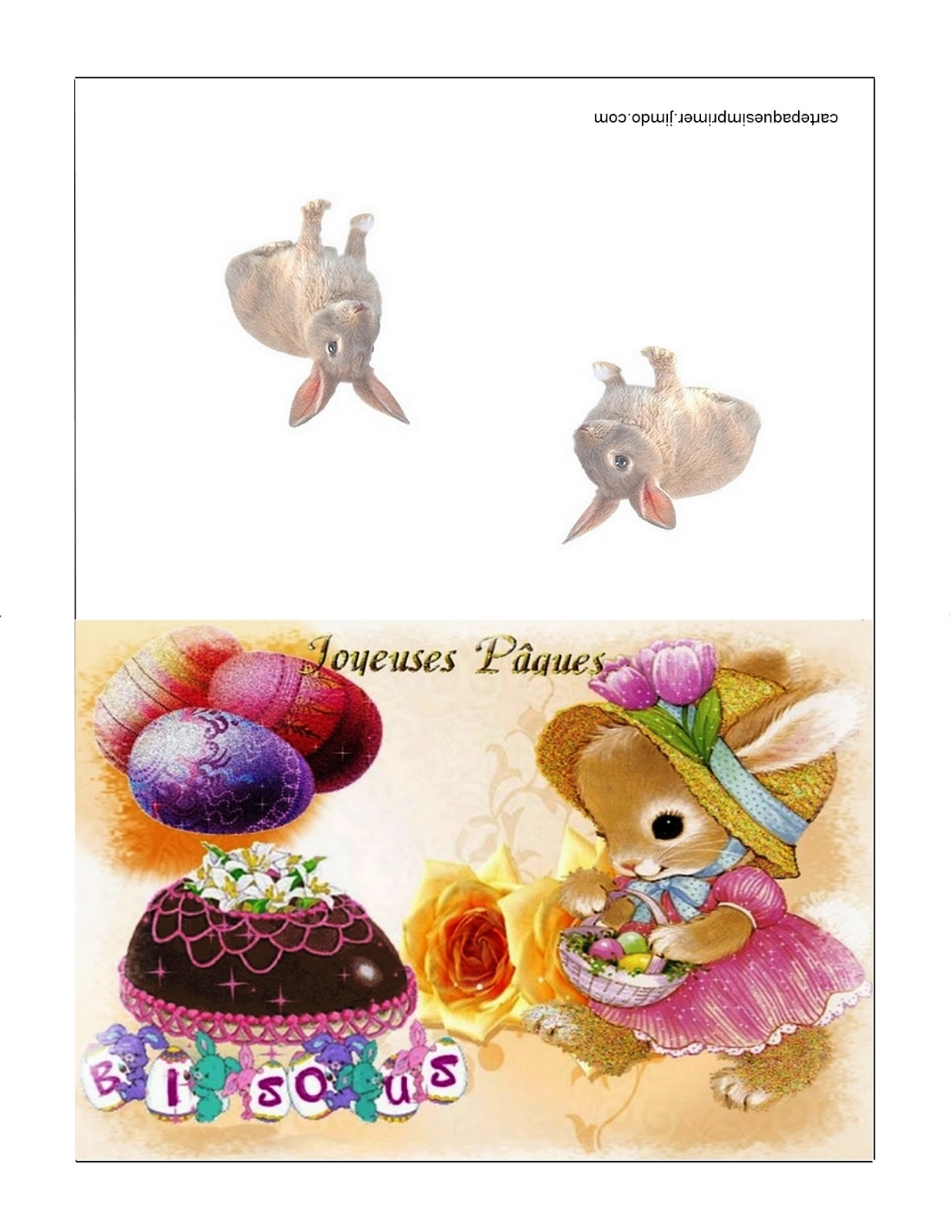 Carte de p ques imprimer gratuites carte p ques imprimer gratuites - Image pour paques gratuites ...