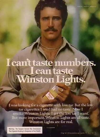 Cigarette Ads 2012 70s cigarette ad