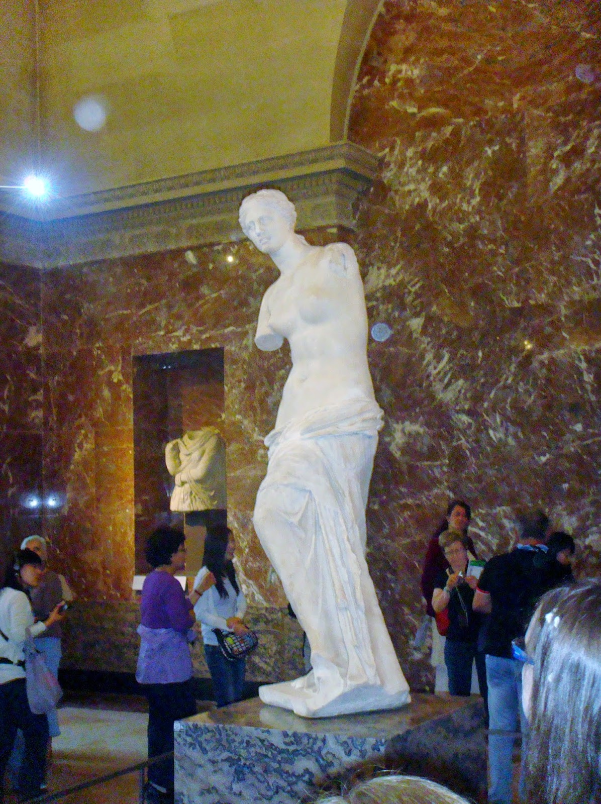 Venus De Milo Louvre Paris
