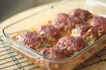 Mini Cheesy Meatloaves (with OATS!)