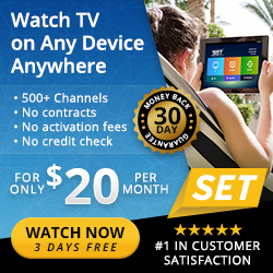 Where we get over 500 channels for just $20 a month!