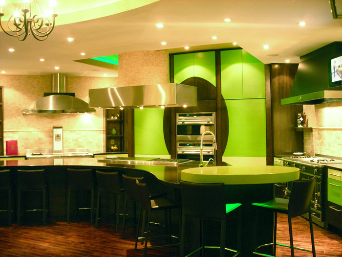 best kitchen interior design ideas green and yellow kitchen and