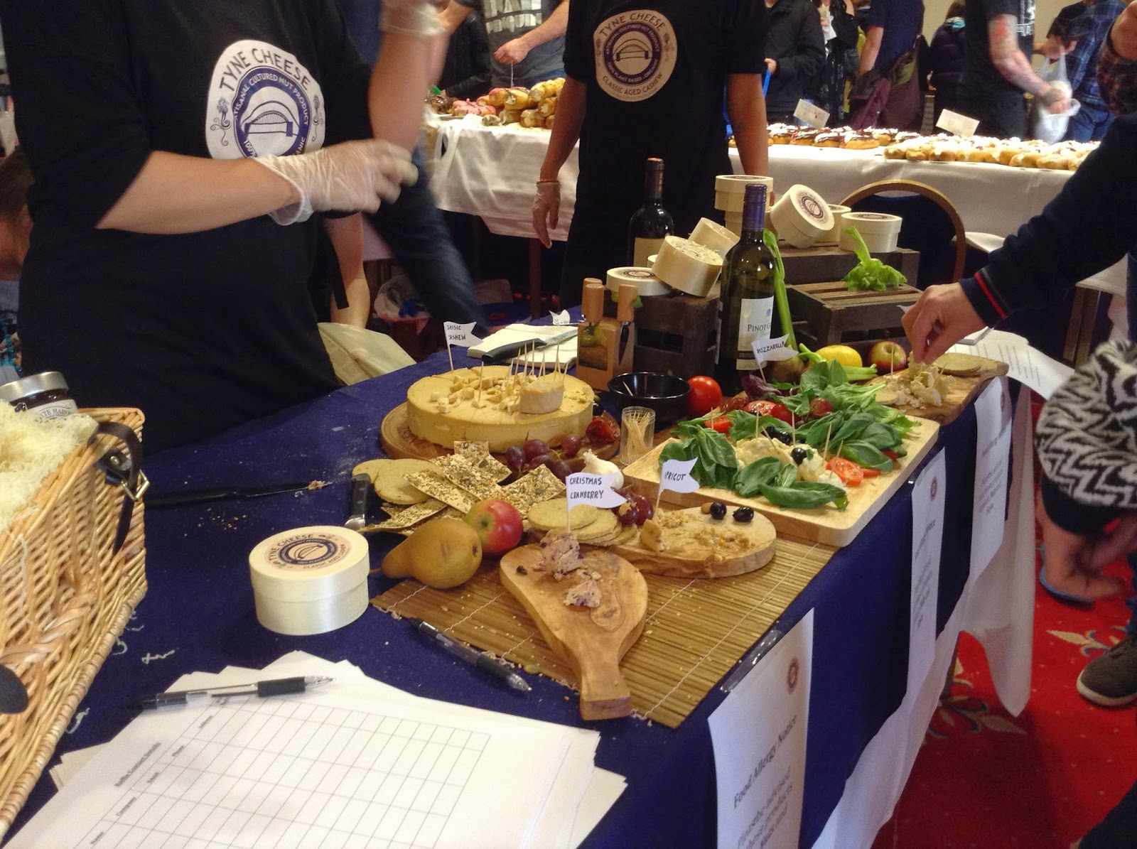 Tyne Cheese at the North East Vegan Festival 2014