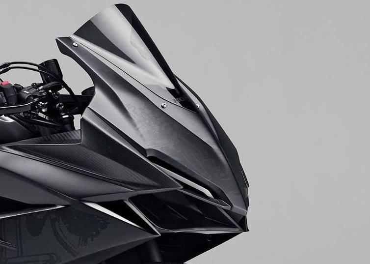 Beredar foto bentuk utuh dari prototype Honda CBR 250RR . . sangar broo !
