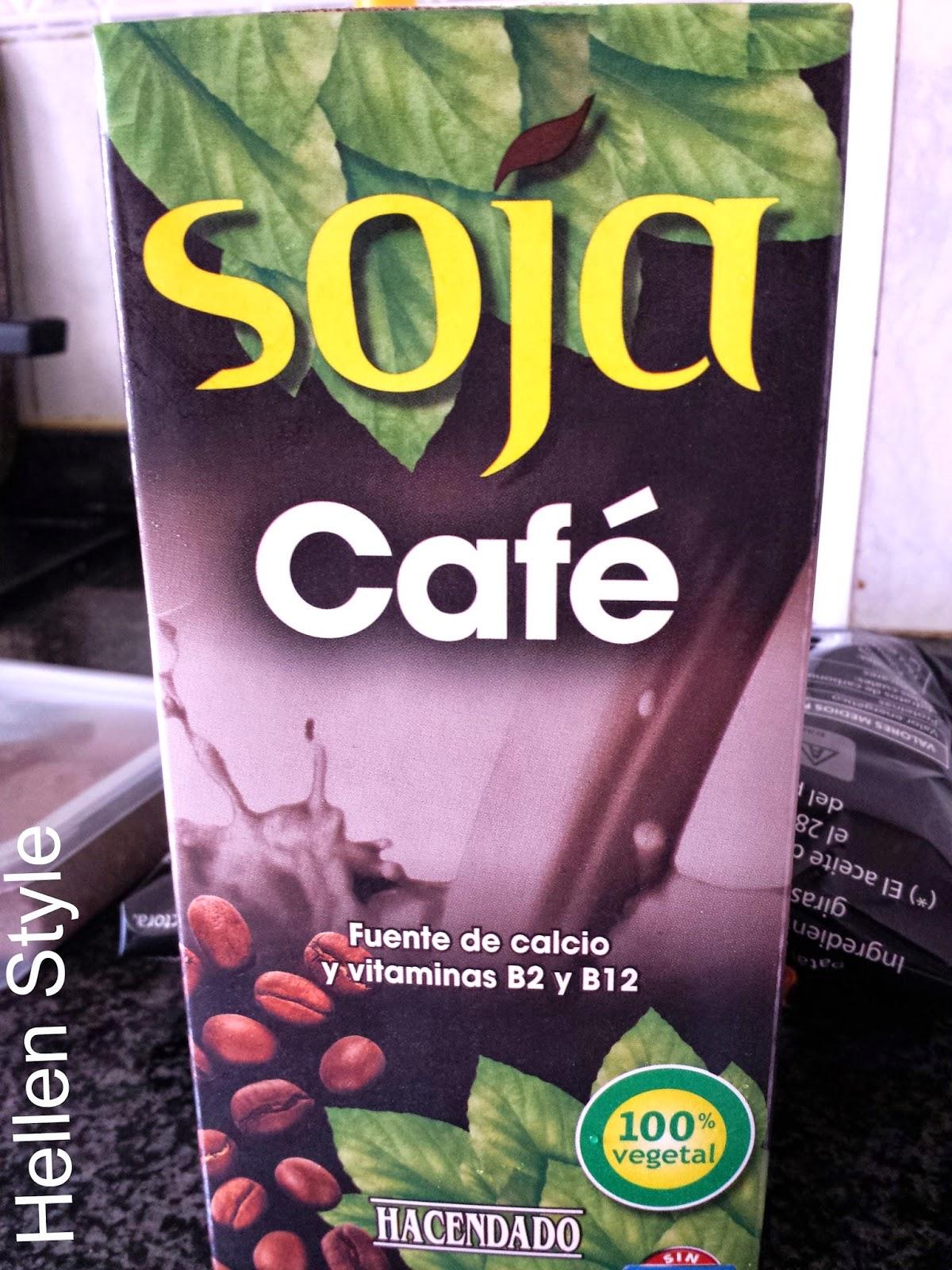 Bebida de soja sabor café Hacendado