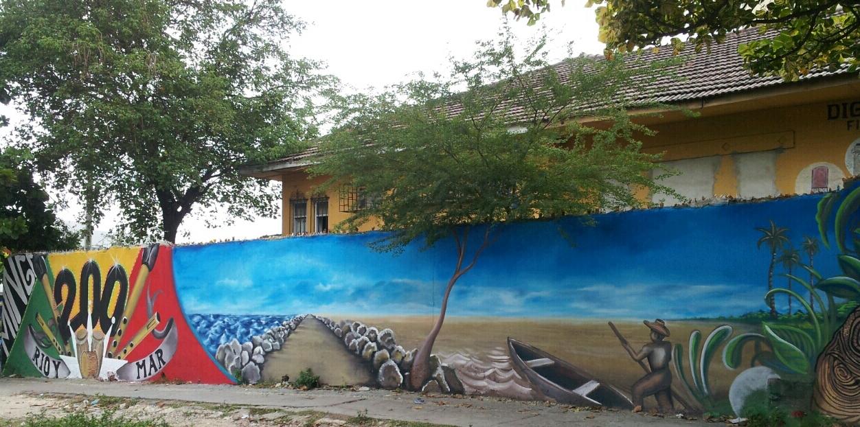 Bicentenario de barranquilla el arte urbano celebra el for Margarita saieh barranquilla cra 53