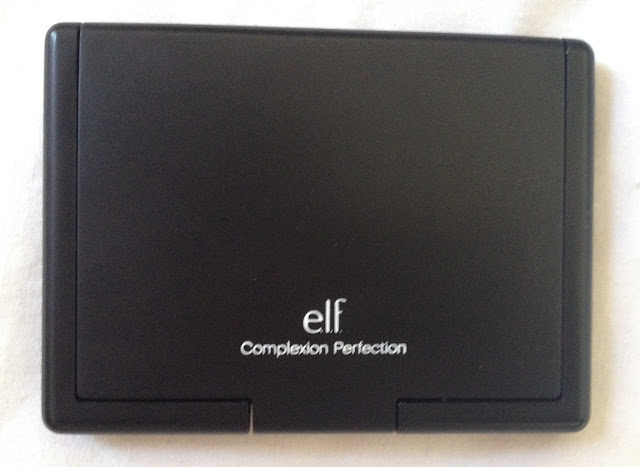 elf, elf make up, eyes lips face, e.l.f., complexion perfection, highlighter, eye brightener, reduce redness, cancel out red tones, red tones, purple tones, grey tones, face powder, setting powder