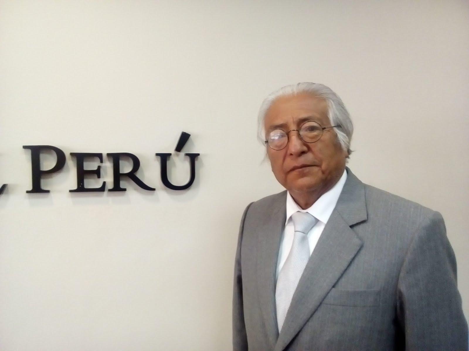 DR. SOCRATES ZEVALLOS, PRESIDENTE DE LA CORTE DE JUNIN
