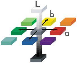 2 соотношение профиля uncoated fogra29 и цветового пространства srgb в координатах l*a*b* сеткой показано