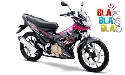 Gambar Satria FU 150 cc Pink