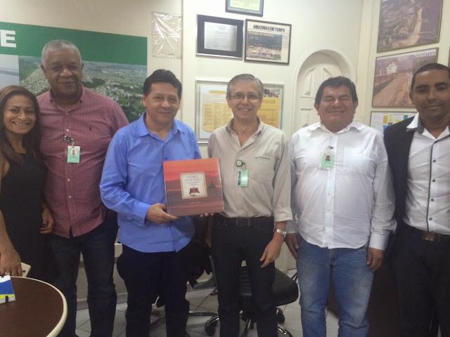 Prefeitura de Coari fecha parceria com Transpetro