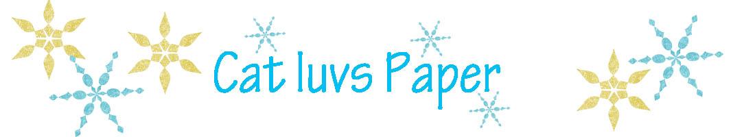 Cat Luvs Paper