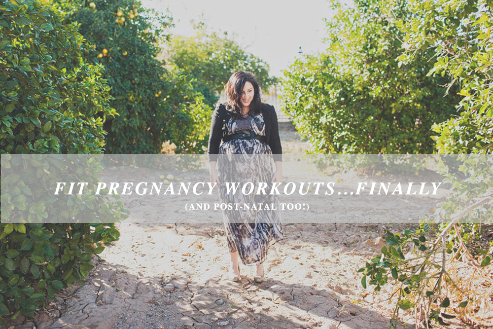 MATERNITY AND POST NATAL WORKOUTS