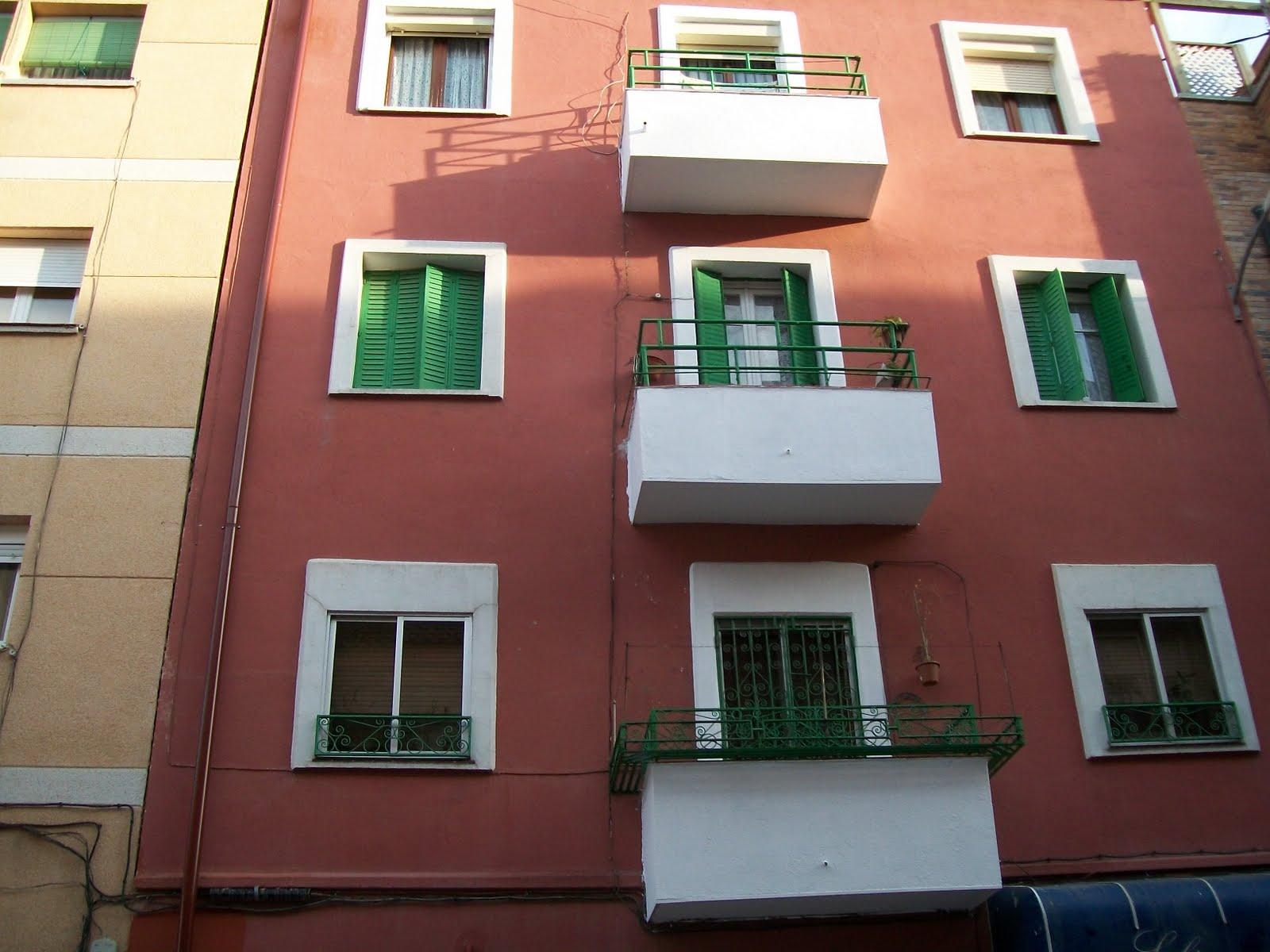 Pintura en fachadas pintar por trabajos en vertical - Como pintar fachadas de casas ...