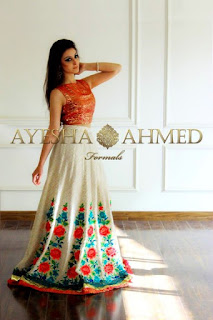 Ayesha Ahmed Latest Formals Collection 2015