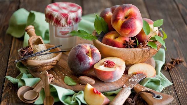 Fotos de Frutas Duraznos Melocotones
