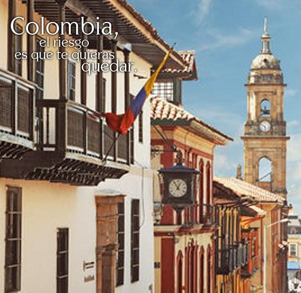 El centro de Bogota, Colombia