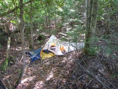 Kelty Dart solo tent