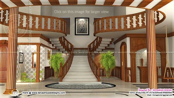 stair case interior thumb Renderings of Interior ideas of home