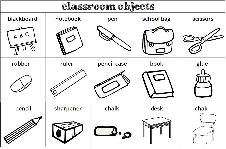 The little english kingdom 10 2015 for 10 objetos en ingles del salon de clases