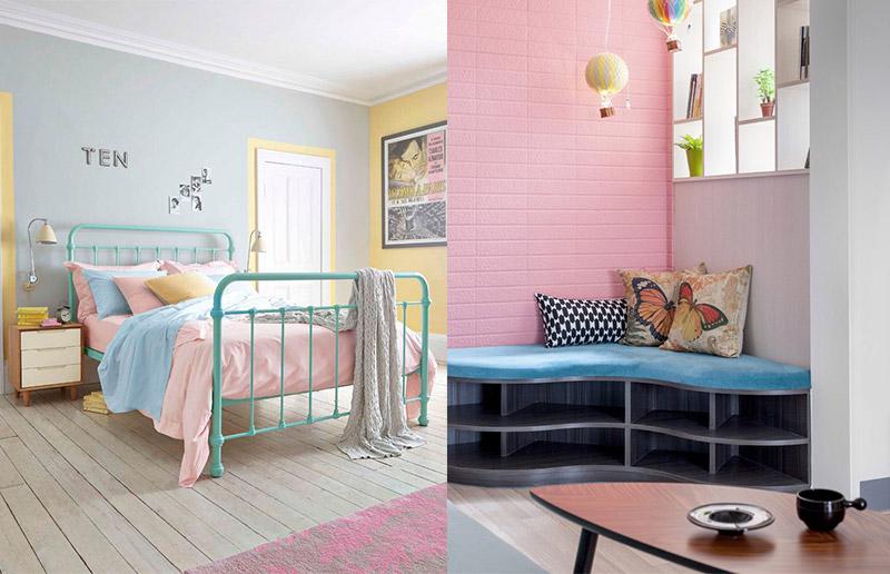Rosa + azul, o que você acha?!